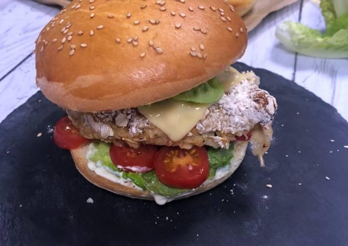 Burger healthy