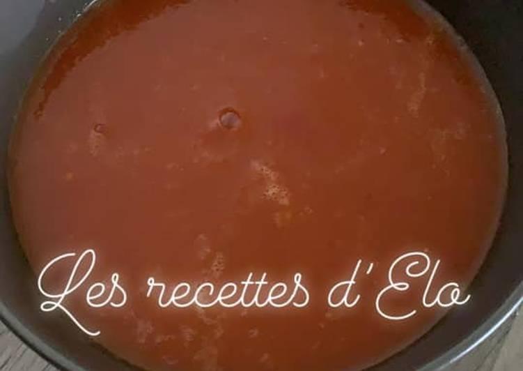 Soupe de tomates au Cookeo