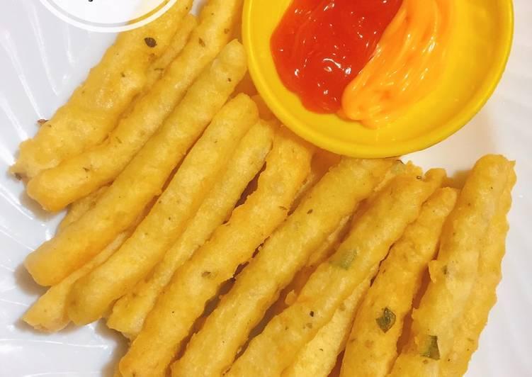 Resep Potato Cheese Stick