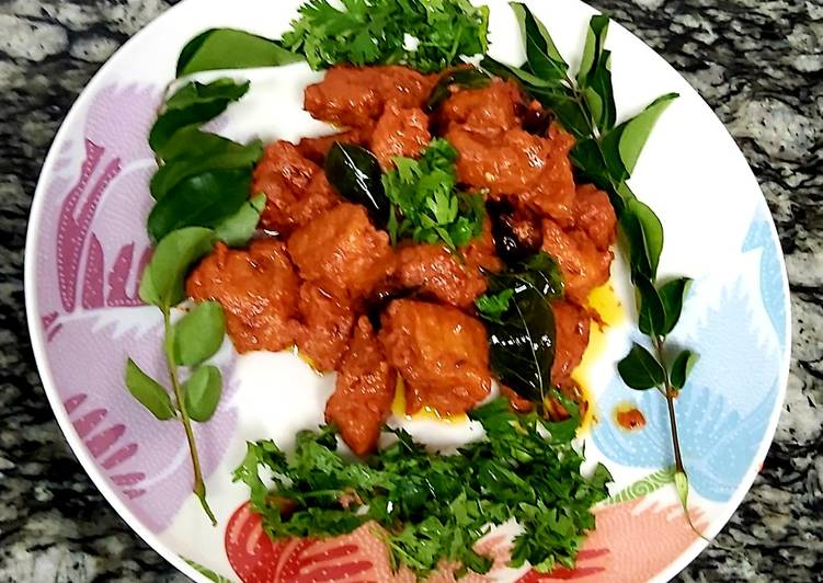 25 Minute Easiest Way to Make Refreshing Spicy tangy chicken 65