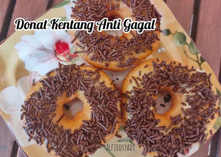 Donut 🍩 Kentang Anti Gagal