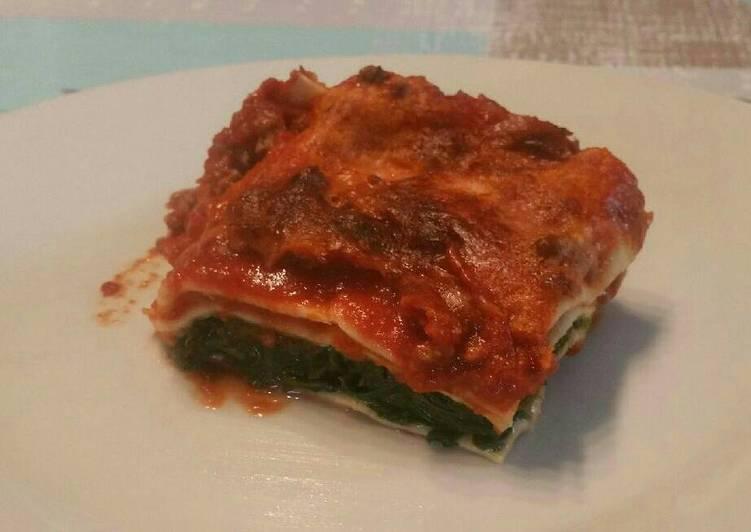 Le moyen le plus simple de Cuire Délicieuse Lasagnes tomate épinards de la ruche