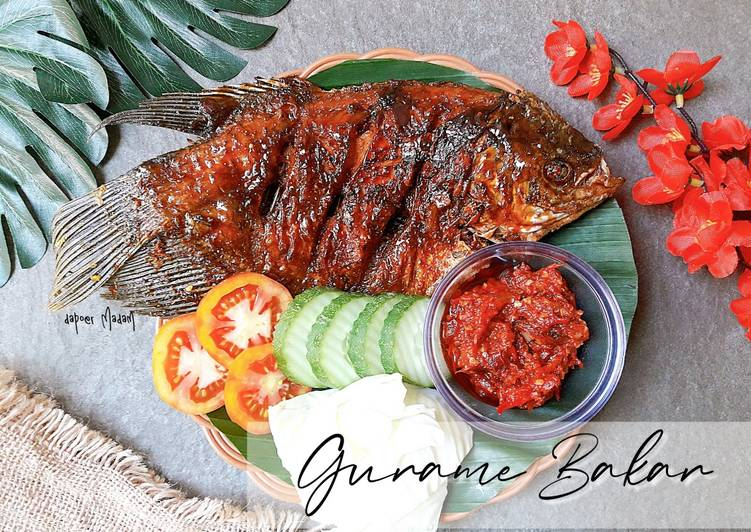 [Week-8] GURAME BAKAR SIMPLE ala MADAM - Mudah & Praktis