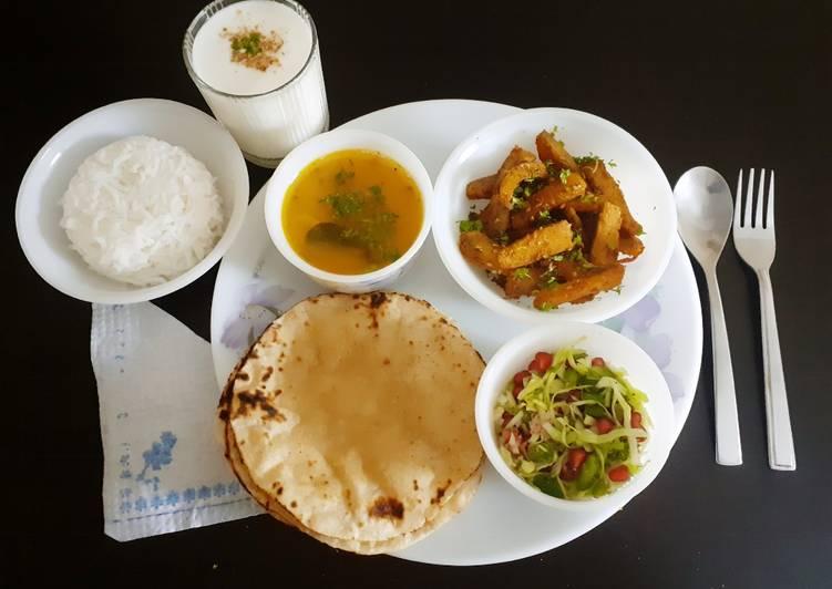 Recipe of Ultimate Veg Lunch platter