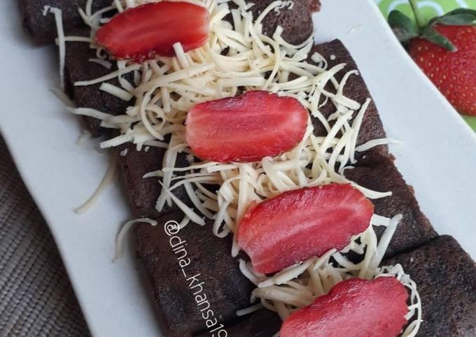 Resep Dadar Gulung Coklat yang Enak Banget