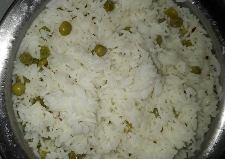 Recipe of Quick Peas rice