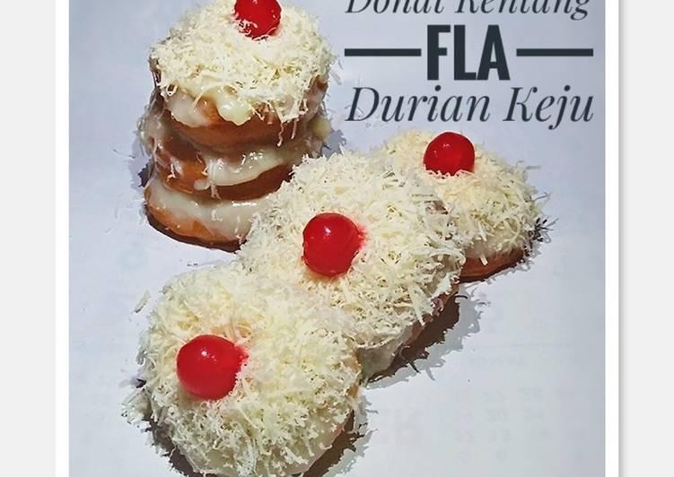 Donat Kentang Fla Durian Keju