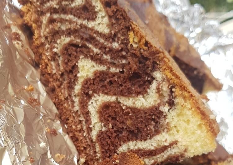 Recette Parfait Gâteau marbré