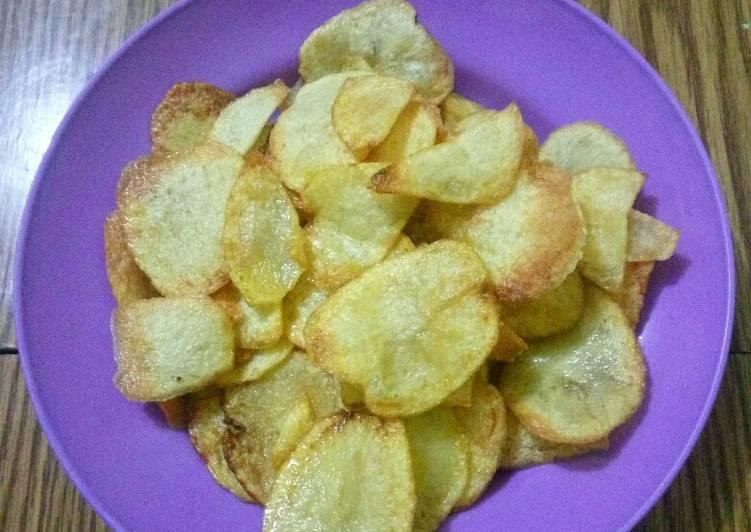 Keripik kentang goreng