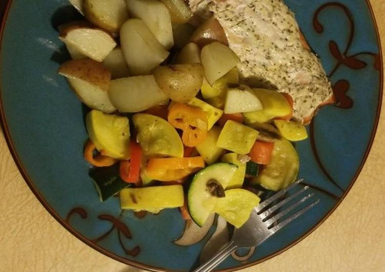 Recipe of Any-night-of-the-week Sweet Salmon