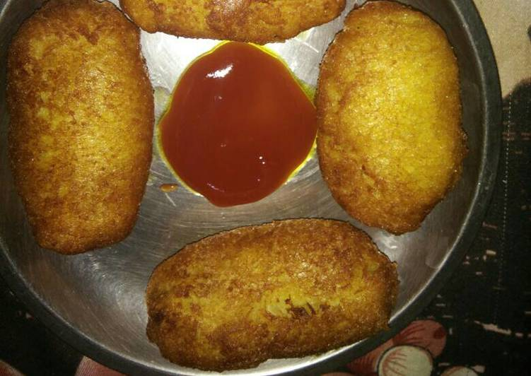 Recipe of Quick Vegetable bread roll