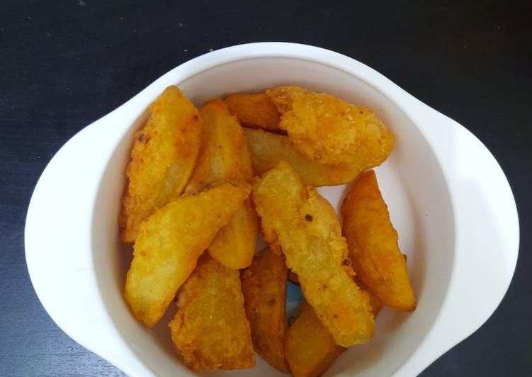 47. Potato Wedges (bisa untuk mpasi 10bln+)