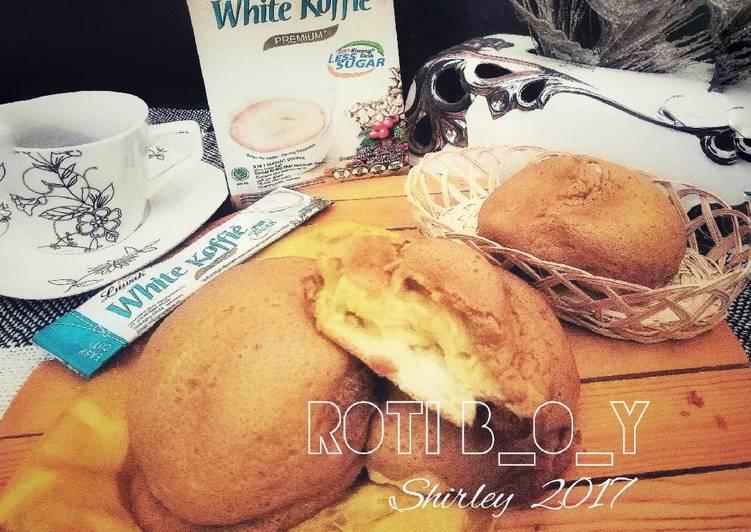 Resep MEXICAN COFFEE Bun (ROTI B_O_Y👍enakkk) Bikin Laper