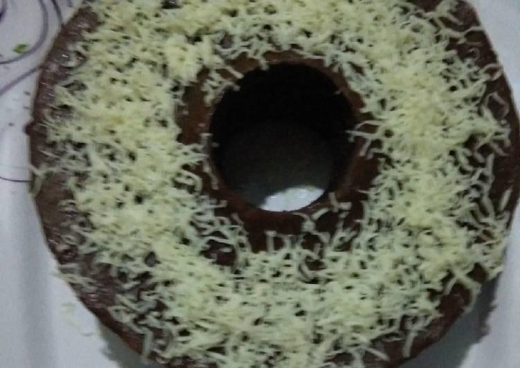 Brownies coklat keju(no mixer)