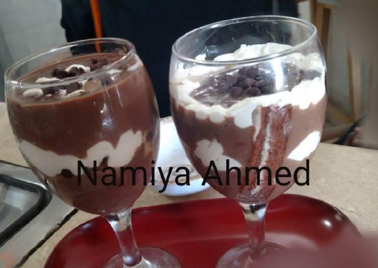 Chocolate cream smoothie 🥤🥤#Ramadankitayari #Drinkcontest