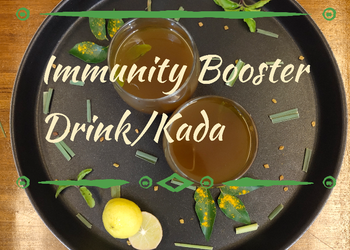 Easiest Way to Make Delicious Immunity booster kada