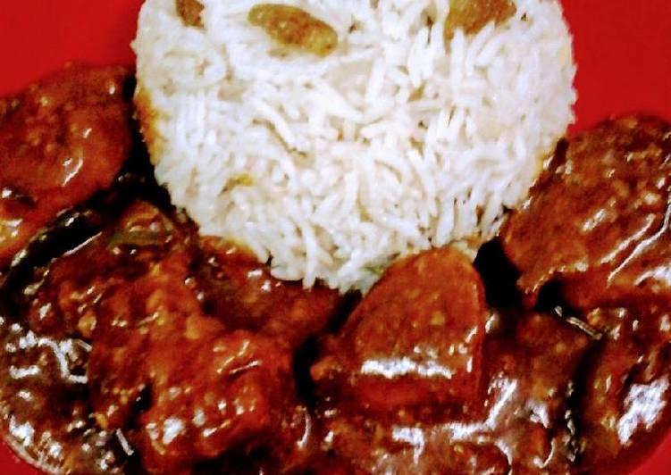 The Most Practical Way To Make Appetizing Shahi malai chicken with bengali mishti rice