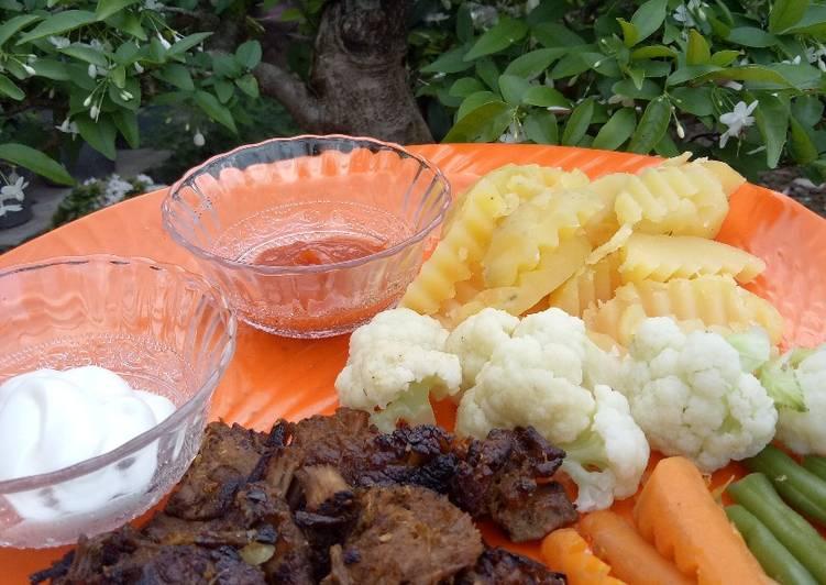 Steak Daging Sapi Bumbu Jawa