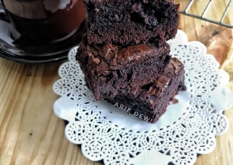 Quadruple Brownies Panggang