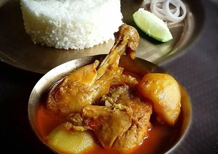 Recipe: Appetizing Bengali Style Murgir Patla Jhol