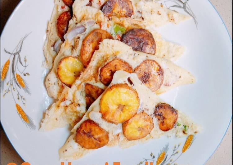 Sandwich Plantain Frittata