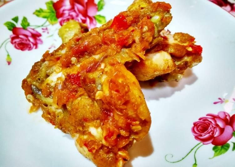 Resep Ayam Penyet Sambal Korek yang enak