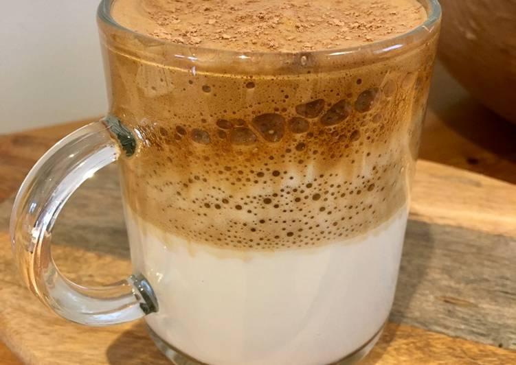 Recipe: Delicious Jumping on the Bandwagon Dalgona Coffee