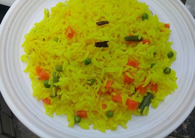 Recipe of Ultimate Savoury rice with cinnamon