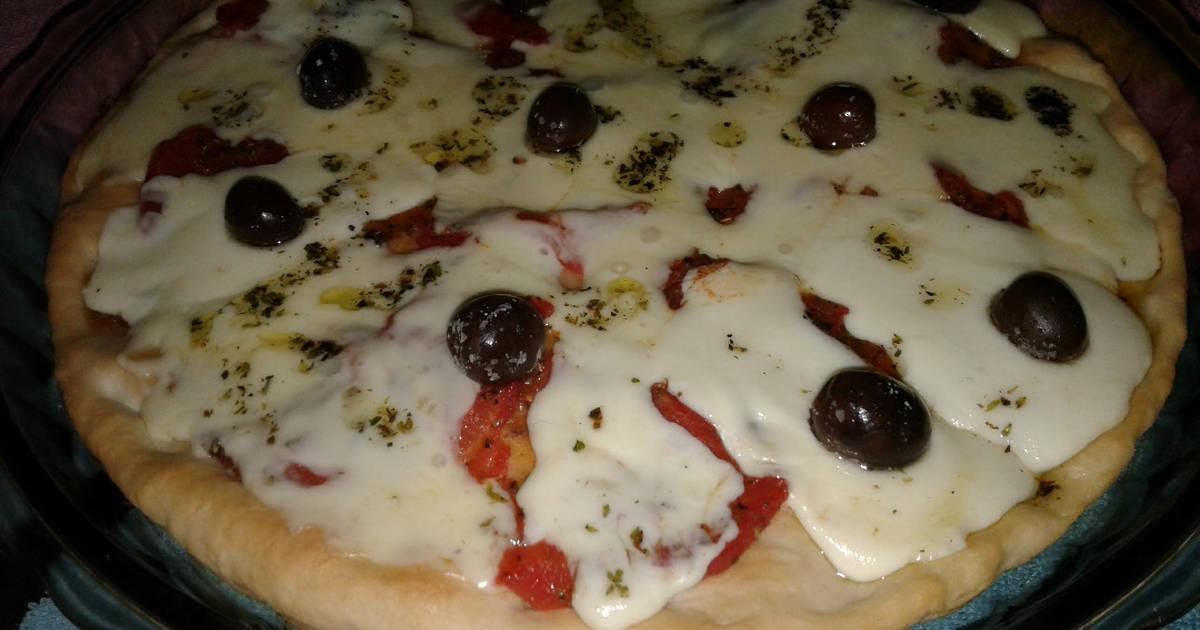 pizza casera con harina leudante pureza