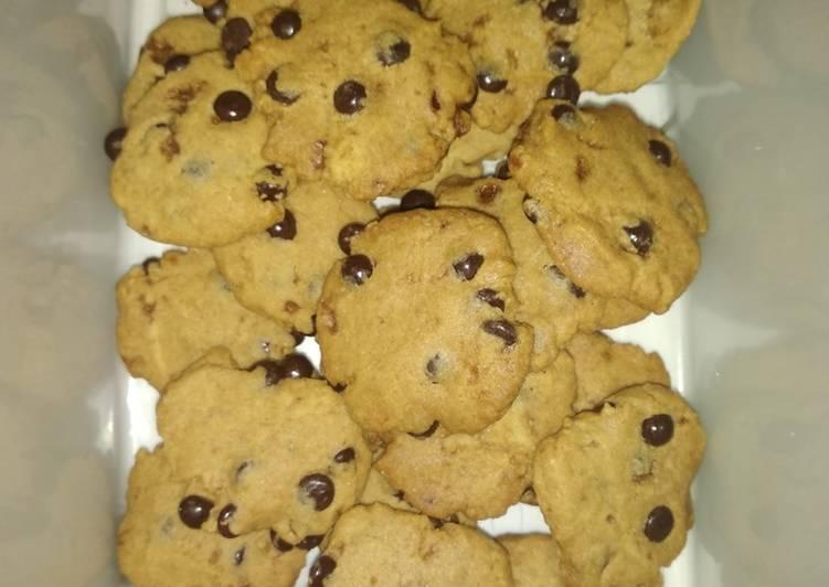Cookies Irit Dengan Chocolatos Sachet dan Gula Merah/gula Aren