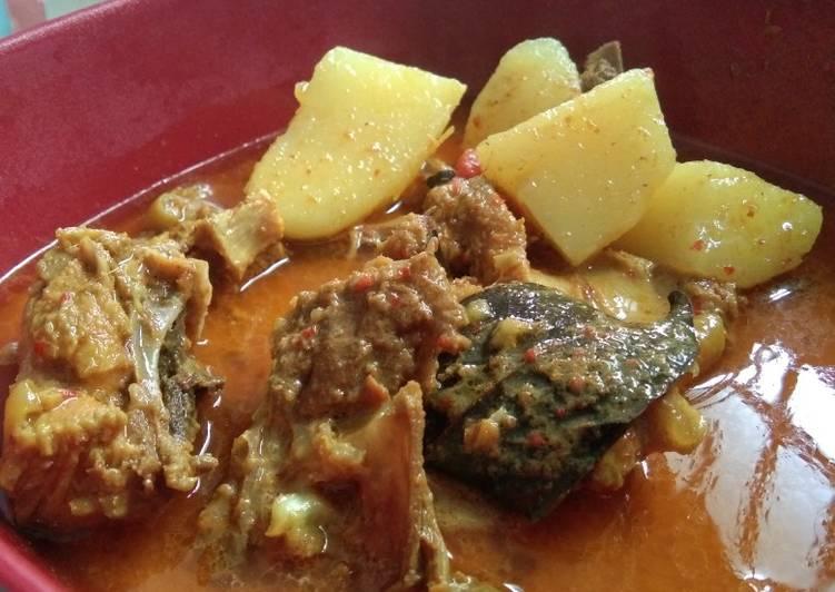 Langkah Mudah Memasak Ayam gulai / Ayam lemang-lemang Anti…