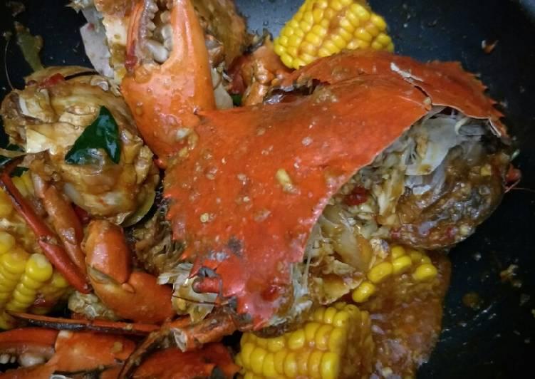 Kepiting asam manis tereenaakkk - cookandrecipe.com