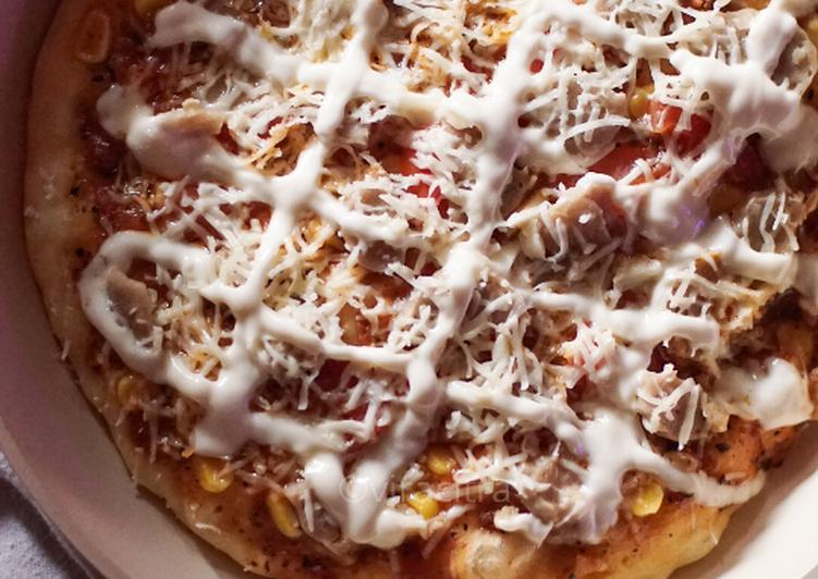 Resep Bagaimana Menyiapkan Pizza Teflon Dan Roti Manis Yang Yummy