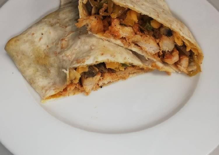 Recipe of Quick Chicken wrap
