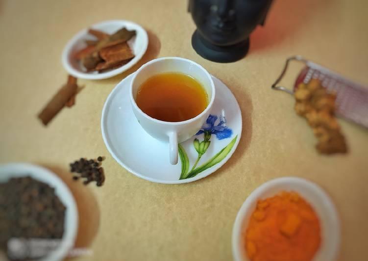 Recipe of Top-Rated Tulsi & Black Pepper Khadha