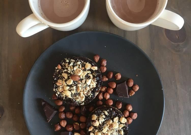 Tartelette Cru Cacao / Noisettes