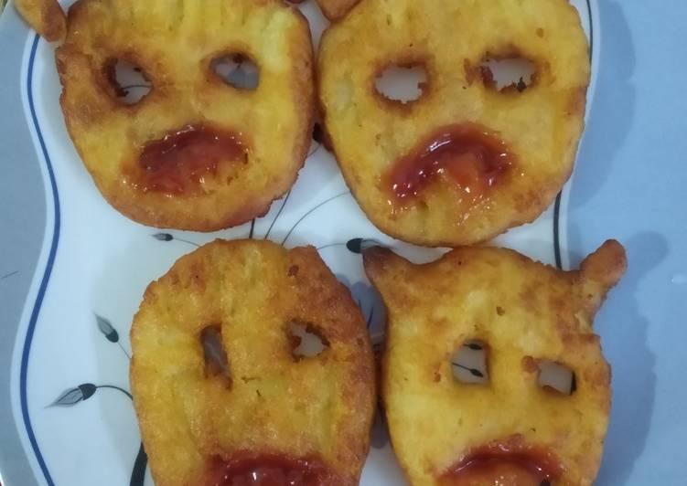 Halloween Potato Fries