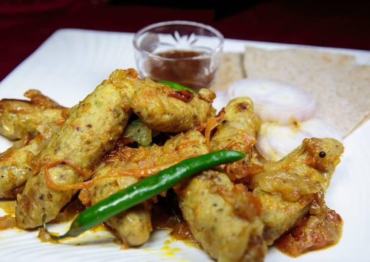 5 Minute Recipe of Quick Chicken Dum Kabab