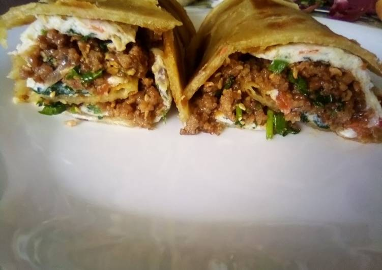 Minced meat Rolex