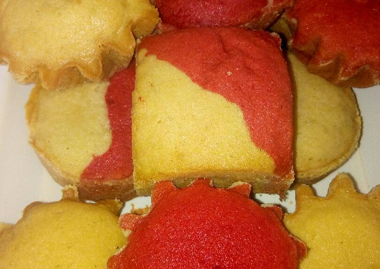 Easiest Way to Prepare Tasty Vanilla and red velvet Cake