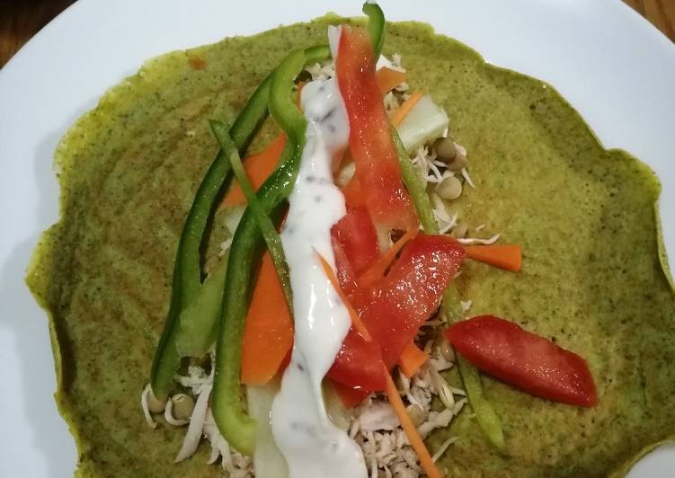 Savory Healthy Crepes