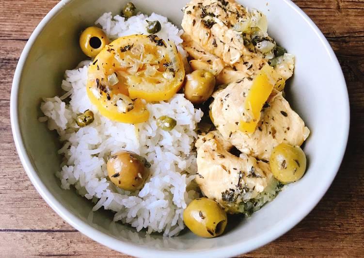 Poulet aux citrons et aux olives Aussi sur Instagram @stl_cuisine