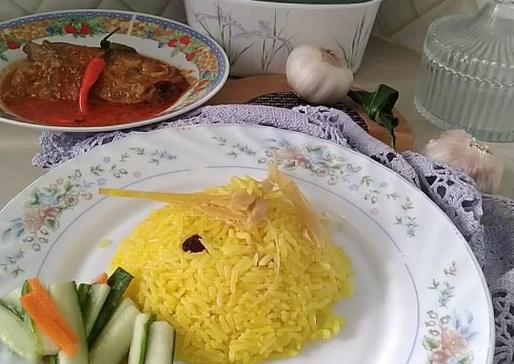 Nasi kuning semudah ABC - resepipouler.com