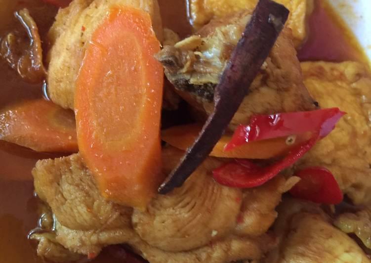 Semur Ayam Tahu Simpel anti Ribet
