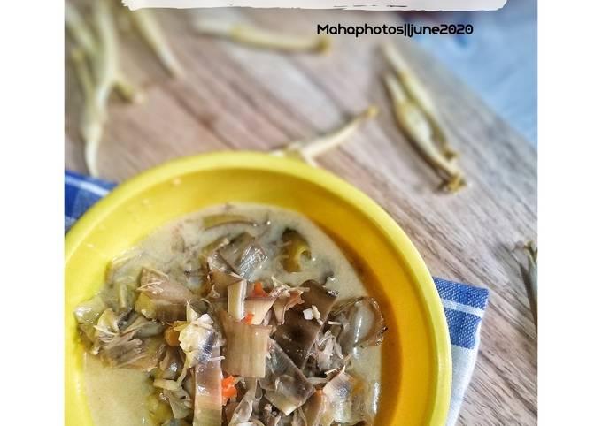 Sayur Jantung Pisang || Onthong Bumbu pecel
