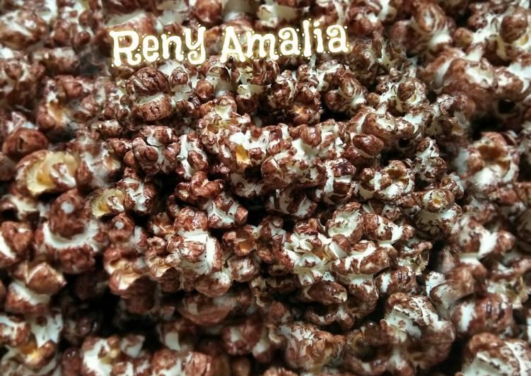 🍿Popcorn Caramel Coklat presto
