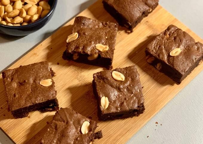Brownie cacahouète
