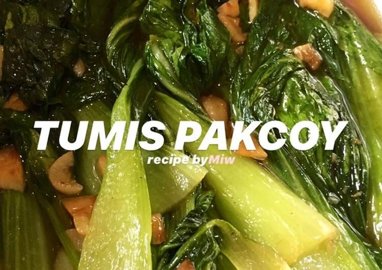 Tumis Pakcoy