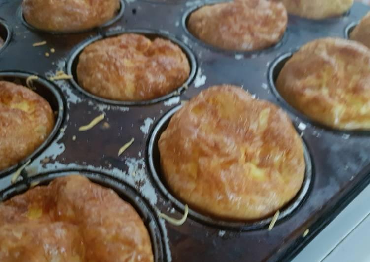 Façon la plus simple Préparer Parfait Omelette forme muffin