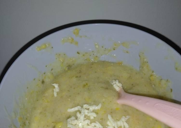 Rahasia Membuat MPASI (Bubur Beras Organik, Daging & Sayur, Tempe) Anti Ribet!